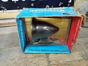 Vintage Nos Gt Style Ready To Paint Race Bullet Outside Sports Mirror Usa Made