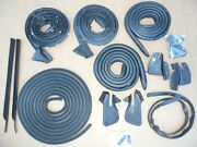 1968-70 Charger Door Roof Trunk Bumper Rubber Weatherstrip Seal Kit 15pc B-body