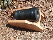 One Black Powder X-large 1.7 Bore Thunder Mug With Oak And Metal Cannon Stand