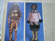 7pg Native North American Doll History Article / Evelyn Ackerman