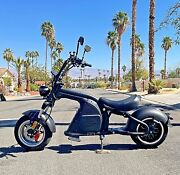 Like A Mini Harley Electric Motorcycle 3000w 30ah Lithium Fat Tire Scooter M8
