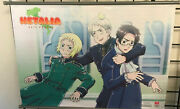 Hetalia- Group E Wall Scroll Official Licensed Product