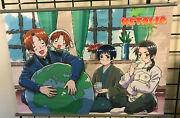 Hetalia- Group C Wall Scroll Official Licensed Product