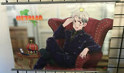 Hetalia Axis Powers - Prussia With Chick Wall Scroll Official Licensed Product