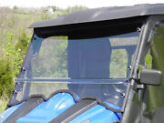 Massimo Motor Msu Premium Lexan Windshield With Quick Connect Clamps And Vents