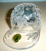 Waterford Crystal Baseball Cap World Series Champs 2011 St. Louis Cardinals New
