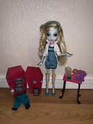 Monster High Classroom Lagoona Blue Doll Lotlocker,clothes,frog Almost Complete