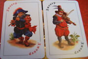 Russian Playing Cards Ukrainian Musketeers