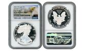 2021 W Silver Eagle S1 Heraldic Type 1 Ngc Pf70 Ucameo First Releases Eagle R5