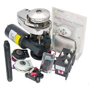 900w Boat Anchor Winch Kit Remote Control Windlass Max Working Load 220kg 12v