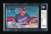 Bgs 9 Juan Soto 2018 Topps Update Us300a In Dugout Photo Variations 2 9.5 Sub