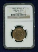 Great Britain Edward Vii 1902 Half Penny Uncirculated Certified Ngc Ms65-rb