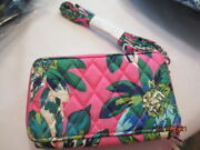 Vera Bradley, All In One Crossbody, For Iphone 6 Nwt Pink Wristlet