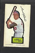 1968 Topps Action All-star Sticker Frank Robinson Orioles Rare Test Issue