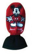 Hand Brake Cover Car Mickey Mouse Red Black Protector Decoration Accessory