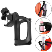 Bike Bicycle Handlebar Cup Holder Cycling Beverage Water Bottle Cage Mount Drink
