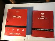 1994 Ford Mustang Service Shop Repair Workshop Manual And Revised Brake Section