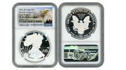2021 W Silver Eagle S1 Heraldic Type 1 Ngc Pf70 Ucameo Early Releases Eagle R5