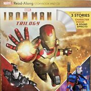 Iron Man Trilogy Read-along Storybook And Cd By Marvel Press Book Gr Paperback