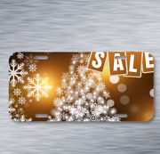 Sale New Year Discounts On License Plate Car Front Auto Tag