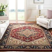 Safavieh Heritage Collection Hg625a Handcrafted Traditional Oriental Heriz...