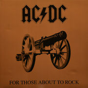 Ac/dc Andndash For Those About To Rock We Salute You Vinyl Lp