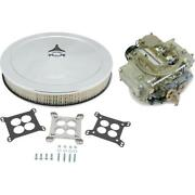 Holley 0-8007 390cfm Carburetor W/adapter And 14 Inch Filter Kit