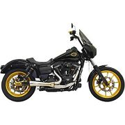 Bassani Stainless Steel Ripper 2-into-1 Exhaust System For Harley Fxd Dyna 06-17