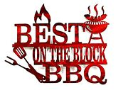 Best On The Block Bbq / Bbq Sign / Grilling / Dad Gift / Outdoor Cooking Sign