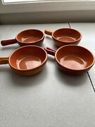 De Silva Pottery Bowls Soup Chili Italy Rustic Handles Italian Dinner Lunch