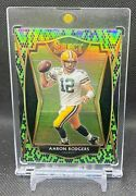 Aaron Rodgers 2020 Panini Select Premier Level Green And Black Snakeskin Prizm 2/2