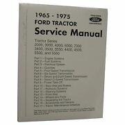 Shop Manual For Ford Holland Tractor 2000 3000 5000 Others