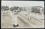 Mint Usa Real Picture Postcard Civil War Court Of Honor Gar Lima Oh