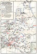 Mapping The Holocaust - Poland And The Baltic The End Of World War Ii Map Poster