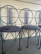 Frank Lloyd Wright Style Midway Chair Set Of Iron Chairs Kelly Wearstler Project