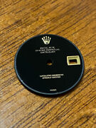 Rolex Vintage Black Onyx Dial Lady Datejust Ref 26mm Factory New Old Stock