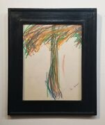 Joan Mitchell Drawing - Andnbspamerican Contemporary Art - Trees- Andnbspabstract Drawing