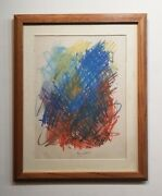 Joan Mitchell Drawing - Andnbspamerican Contemporary Art - Abstract Drawing