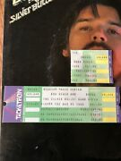 Bob Seger 1986 Blossom Cleveland Oh Unused Full Concert Ticket And Used Stub