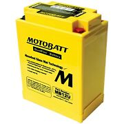 Motobatt Battery For Universal Products 12n124a 12n12a4a1 Yb12aa Yb12aas