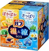 Kao Bub Warm And Cool Box 6 Scents 48 Tablets Japanese Bath Salts From Japan