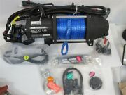 Polaris 6000 Lb. Pro Heavy Duty Series Winch 50and039 Synthetic Rope
