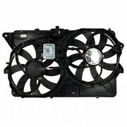 Engine Cooling Fan Assembly-motor And Fan Assy Motorcraft Fits 2009 Ford Flex