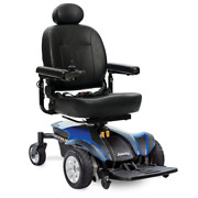 Electric Power Wheel Chair Pride Select 6 Jazzy 6 Wheels Blue