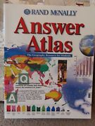 Rand Mcnally Ser. Answer Atlas The Geography Resourse For Students