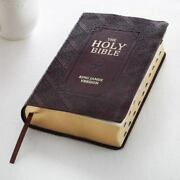 Kjv Holy Bible, Giant Print Standard Bible, Red Letter Leather W Thumb Index
