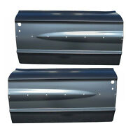 New Set Of 2 Lh And Rh Side Outer Door Skin Panel Amd Fits Ford Galaxie
