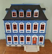 Playmobil Victorian Custom 5301 If You Love Blue One Mansion W/wp Choice-note