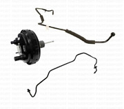 Power Brake Booster + Vacuum Hoses Genuine / Oem For Porsche Cayenne 2003 - 2006