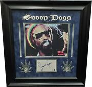 Snoop Dog Hand Signed Autographed Index Card Cut + Photo Custom Matted Ga769860